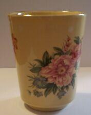Robert Gordon Australian Pottery Floral Toothbrush Holder / Vase
