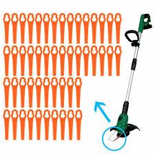 Lot de 100 lames Jardin pelouse  orange pour coupe-bordures BG RG CT GE-CT 18 Li