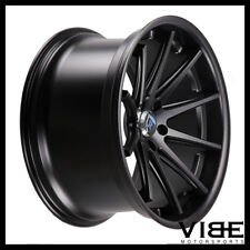 "20"" ROHANA RC10 BLACK CONCAVE WHEELS RIMS FITS BMW E60 525 528 530 535 545 550"