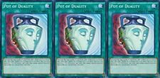 Pot of Duality 1st X 3 YUGIOH LDK2-ENY34 Normal Spell Card