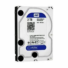 """Western Digital Blue 2TB SATA III 3.5"""" Hard Drive - 5400RPM, 64MB Cache"""
