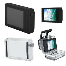 LCD BacPac Display Viewer Monitor Screen + Rear Door Case For GoPro Hero 4 3 SP