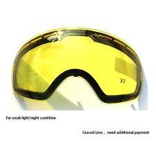 Ski Goggles Lens Anti-fog for COPOZZ GOG-201 Skiing Mask Glasses Snowboard