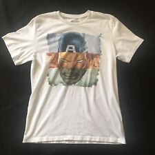Old Navy Collectabilitees Tee T-shirt Superhero Captain America Hulk MED Iron Ma