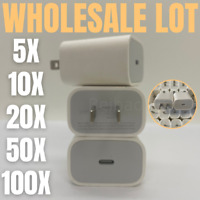 100X Lot PD 20W USB-C Fast Wall Charger Power Adapter For iPhone 12 11Pro Max XR