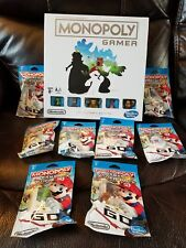 Monopoly Gamer Collector's Edition with complete set of 8 Power Pack Figures
