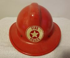 Red Safety Supply Co. Chieftain Firefighters/Police Safe-T-Helmet Pre-Owned Rare