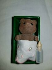 Sylvanian Families Calico Critters Vintage Baby Sister Blossom Timbertop Bear