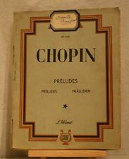 ANCIENNE PARTITION CHOPIN (C3).