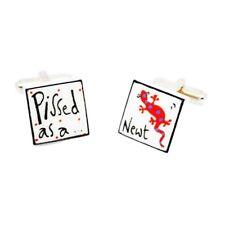 Red p *** zA COME UN Tritone gemelli da Sonia Spencer, in scatola. dipinte a mano, prezzo consigliato £ 20!
