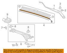 HONDA OEM Windshield-Wiper Blade Refill Left 76622TZ3A01