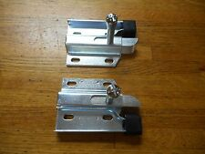 1967 1968 FORD MUSTANG & SHELBY FASTBACK FOLD DOWN REAR SEAT SIDE LATCH PAIR NEW