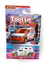 TOOTSIE ROLL POP Volkswagen Caddy  Delivery 2020 Matchbox Candy Series 1/6 GKP75