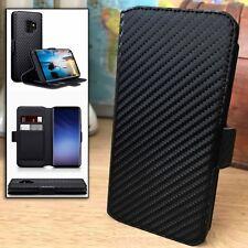 Samsung Galaxy S9 Retail Box Coverup© 360° Edge Protection Flip Case Black