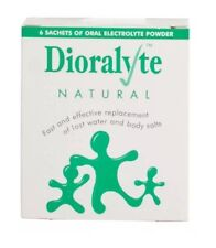 2x  Dioralyte Natural Rehydration Sachets 6 Sachets