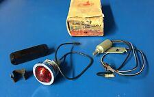 NOS GM 1961 62 PONTIAC ACCESSORIES EMERGENCY HAND BRAKE SIGNAL LAMP LIGHT KIT