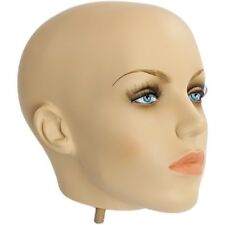 MN-404HEAD Fiberglass Female Realistic Head Attachment for Mannequins/Forms