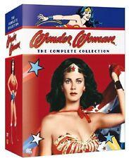 WONDER WOMAN 1-3 (1975-1979) - COMPLETE Action TV Seasons Series - NEW DVD UK