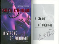 Laurell K. Hamilton SIGNED AUTOGRAPHED A Stroke of Midnight HC 1st Ed 1st Print