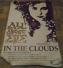 All About Eve 'Rare' In The Clouds 'huge' Promo Poster