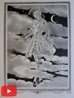 Erotica Love Amour prints lot x 10 beautiful printed images c. 1930's