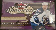 2016-17 Upper Deck Fleer Showcase Hockey Factory Sealed Hobby Box