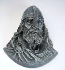 Viking Head Pagan Norse Hand Crafted Ornament Ragnar Warrior Scandinavian Gift