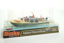 DINKY 675 MOTOR PATROL BOAT