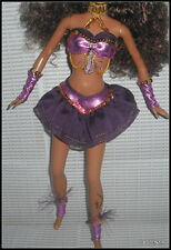OUTFIT BARBIE  DOTW FESTIVALS OF THE WORLD CARNAVAL DOLL EXOTIC PURPLE COSTUME