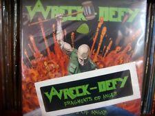 WRECK-DEFY – Fragments of Anger LIM. 100+ Sticker+Guitar Pick