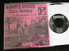 IMPORT SLEEVE Small Faces Immediate 064 Lazy Sunday and Rollin' Over