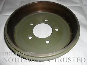 FRONT REAR BRAKE DRUM JEEP MAHINDRA CJS CJ340DP CJ540DP CL340DP MM540