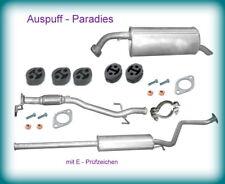 Abgasanlage ab Katalysator Auspuff Schalldämpfer Hyundai Getz 1.3 Typ TB + Kit