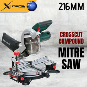 Metabo Compact Lightweight Lasercut 216mm Crosscut Compound Mitre Saw, 40 Teeth