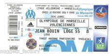 Billet  / Place  OM Olympique de Marseille - OM vs Valenciennes  ( 056 )