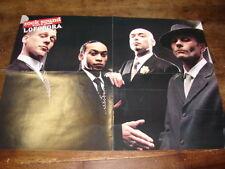 LOFOFORA & FINCH - Poster recto-verso ROCK SOUND !!!!!!!!!!!!!!!
