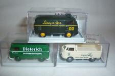 Brekina-werbemodelle - 3 x VW Transporter - 1:87 - Embalaje original - (2.div-14)