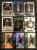 Malcolm Brogdon 9 Card Lot Donruss Rookie Complete RC Threads RC Indiana Pacers