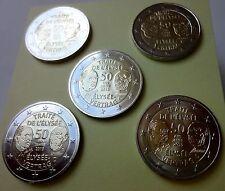 5 x 2  Euro Deutschland 2013  Elysee-Vertrag  - UNC