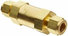 "Parker F Series Brass Instrumentation Filter Inline 50 Micron 1/2"" CPI Com..."