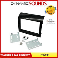 CT23FT21 Black Double Din Fascia Adaptor Panel For Fiat Ducato 2014 Onwards