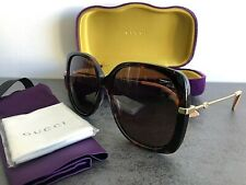 AUTHENTIC GUCCI BUMBLEBEE SUNGLASSES HAVANA GG0511S 2019 STYLE RRP $550 AUD