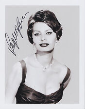 Sophia Loren Hand Signed 8x10 Photo, Autograph Two Women, Houseboat, Film Legend