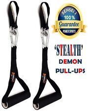 GYMASTICS DEMON Pull Up AB Handles Straps Chinning Pull Up Bar 1 Pair