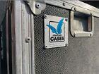 #342 Amptown Flightcase schwarz mit Aufsatz & Rädern ca 121x114x58 (BHT)