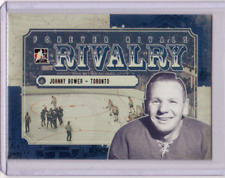 JOHNNY BOWER 12/13 ITG Forever Rivals Rivalry #RI-02 Insert Maple Leafs Card