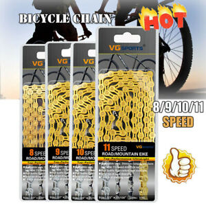 Bicycle Chain 8 9 10 11 Speed Gear Mountain Bike Road Hybrid Cycle Links b