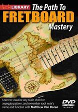 Lick Library PATH TO FRETBOARD MASTERY Guitar Lesson Video DVD Matthew Von Doran