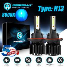 8000K H13 9008 LED Headlight Bulb For Ford F250 350 450 550 2005-2015 Hi-Lo Beam