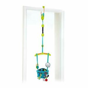 Bright Starts Bounce 'N Spring Deluxe Door Jumper with Take-Along Toys Ages 6...